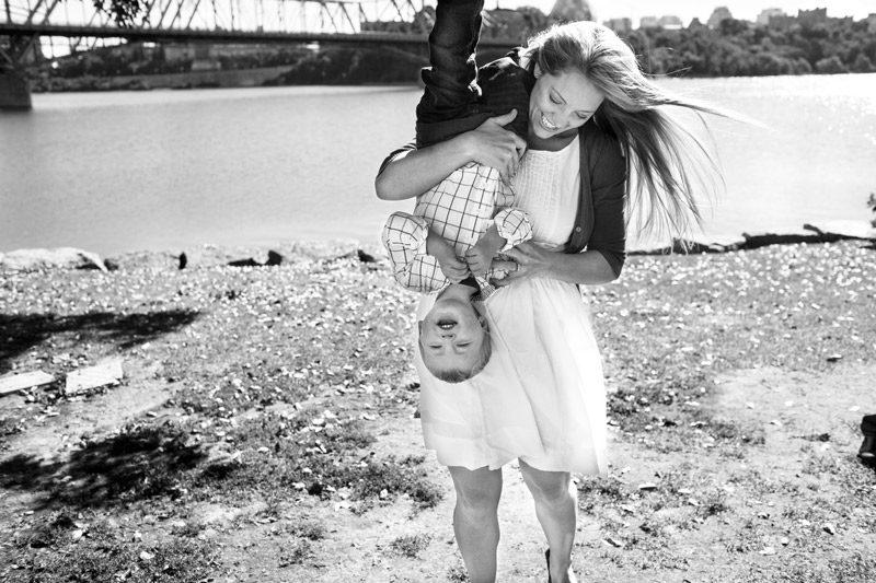 Ottawa Mother and Child Photograph