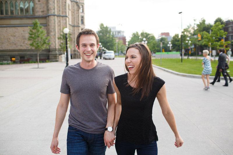 Ontario Engagement Portraits