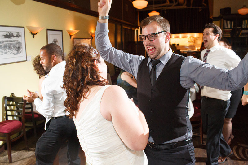 Ottawa Bride and Guests Dancing