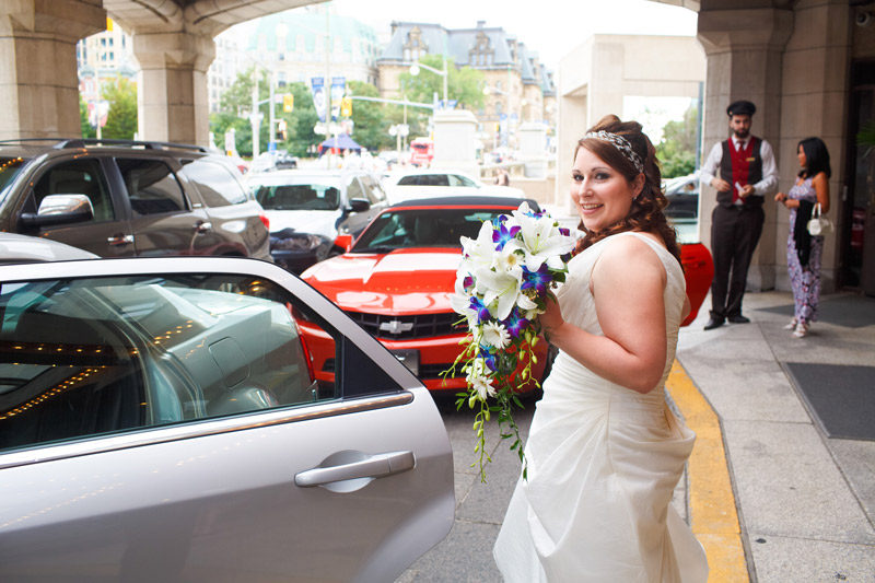 Ottawa Bride Downtown Portrait