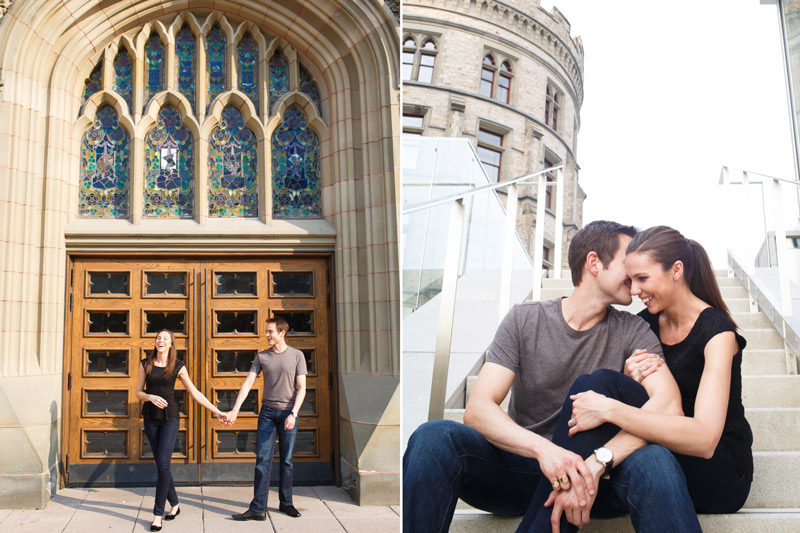 Man and Woman Engagement in Ottawa