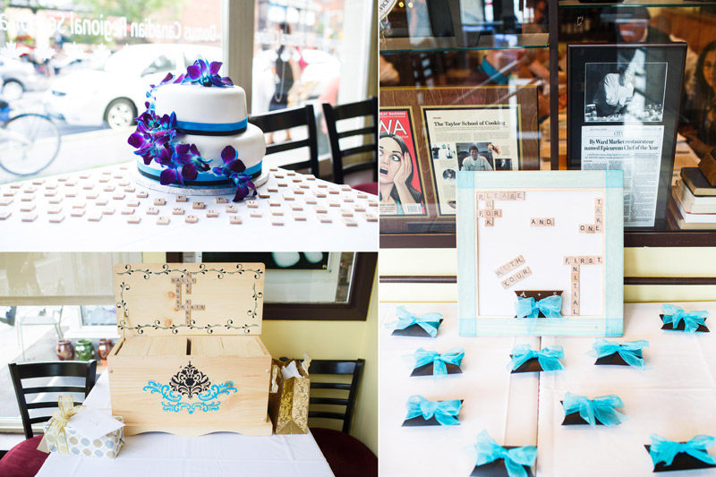 Ottawa Wedding Cake and Details