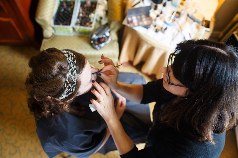 Ottawa Bridal Make Up Application