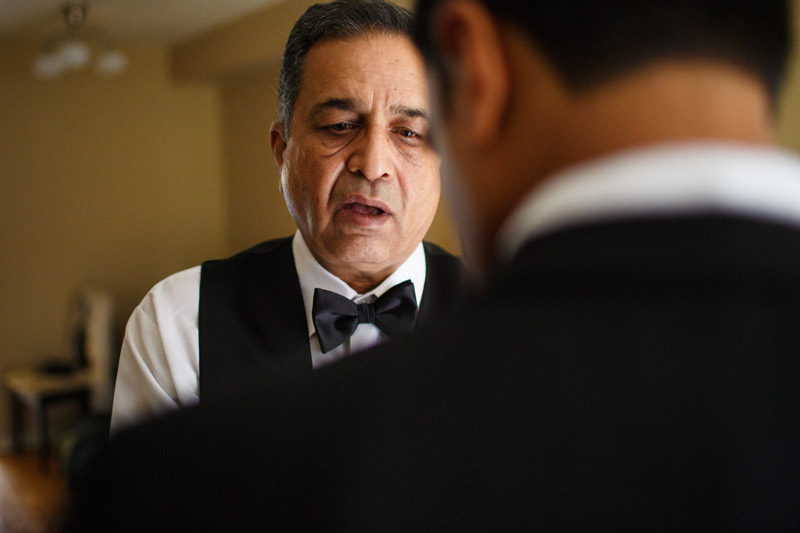 Groom and Father Lifestyle Portrait