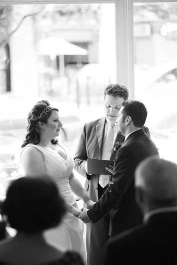 Ottawa Bride and Groom Vows Photograph