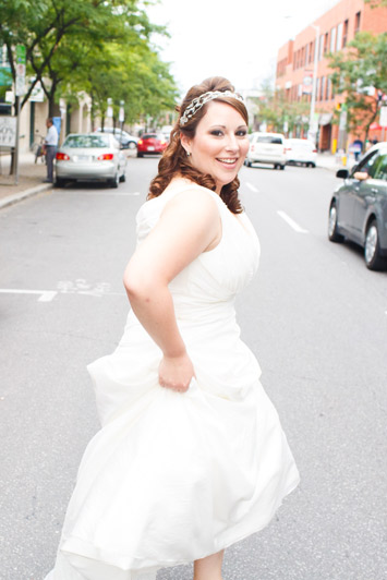 Ottawa Bridal Portrait Downtown