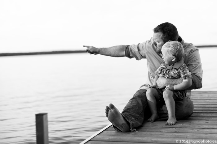 Arnprior Ontario Family Photographer Father and Son Boyo Photography