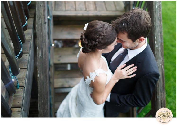 wedding photos at the herb garden