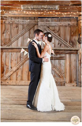 herb garden barn wedding photos