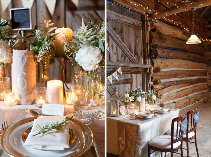 Beautiful rustic and modern barn wedding in ottawa ottawa wedding barn reception decor junglespirit Images