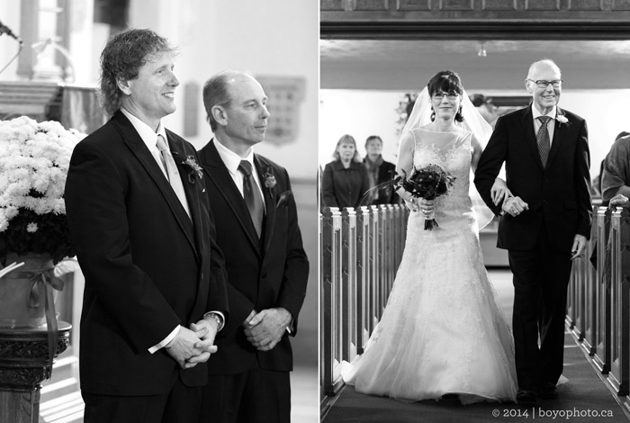 bride-and-father-aisle-Westminster-Presbyterian-Church-perth-ontario