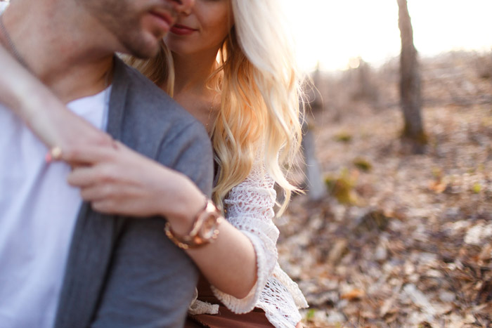 engagement session in the woods ottawa photographer