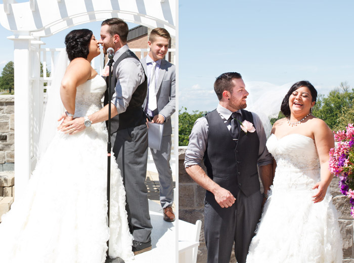 terrace rooftop wedding at the best western premier C hotel by c