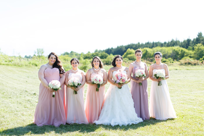 bridal party photo by hamilton wedding photographer boyo photogr