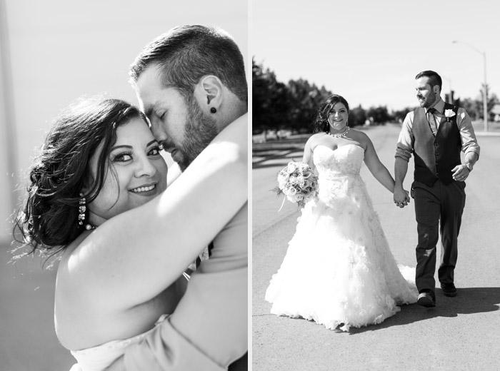 bride and groom portrait hamilton wedding photographer