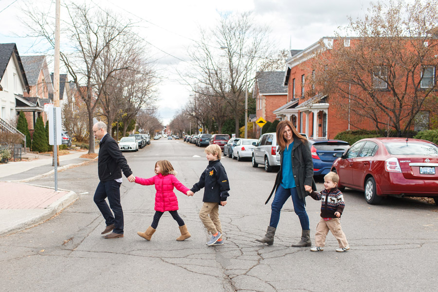 family street crossing in ottawa
