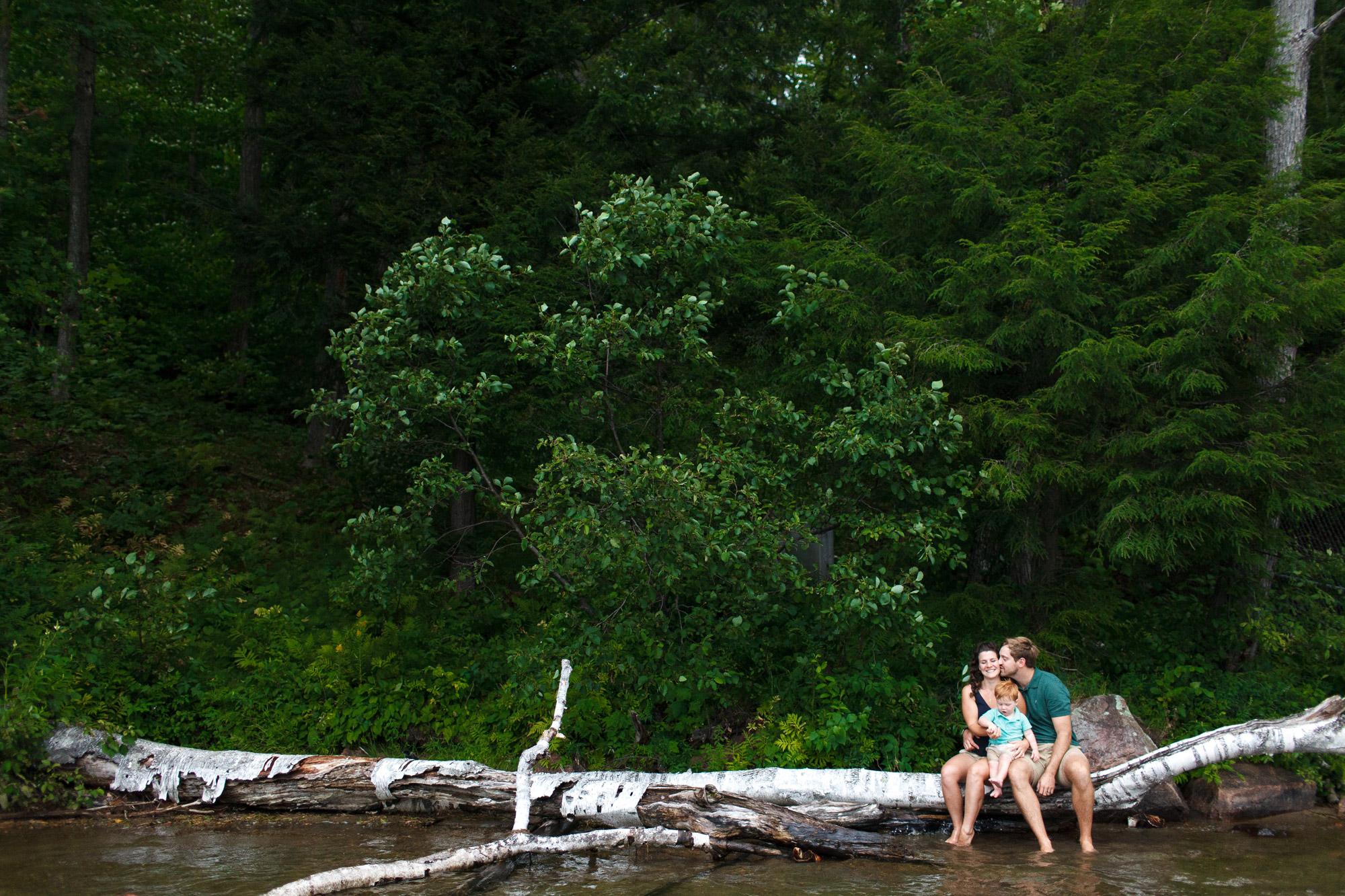 family photos in meech lake