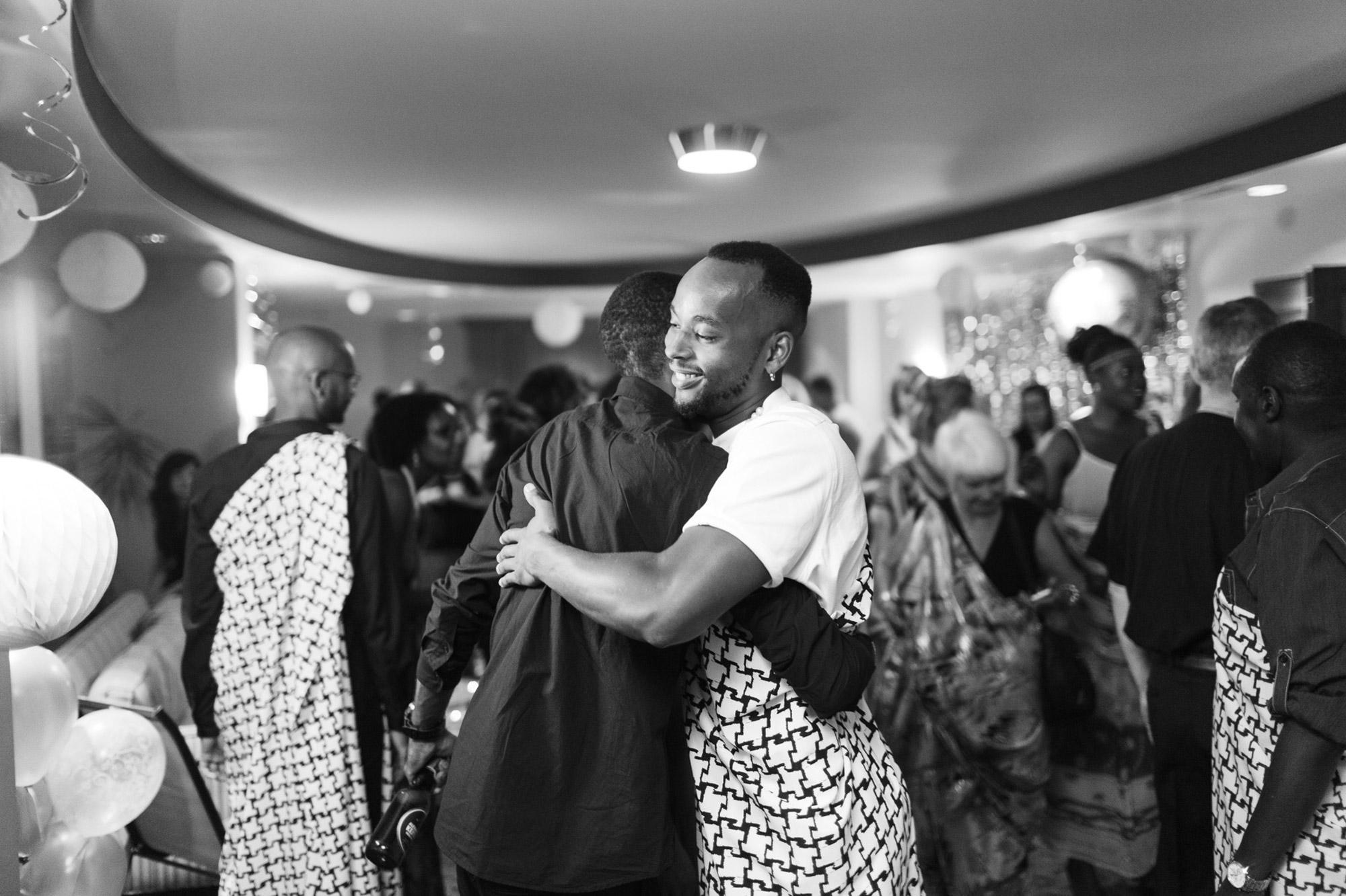 rwandan engagement party
