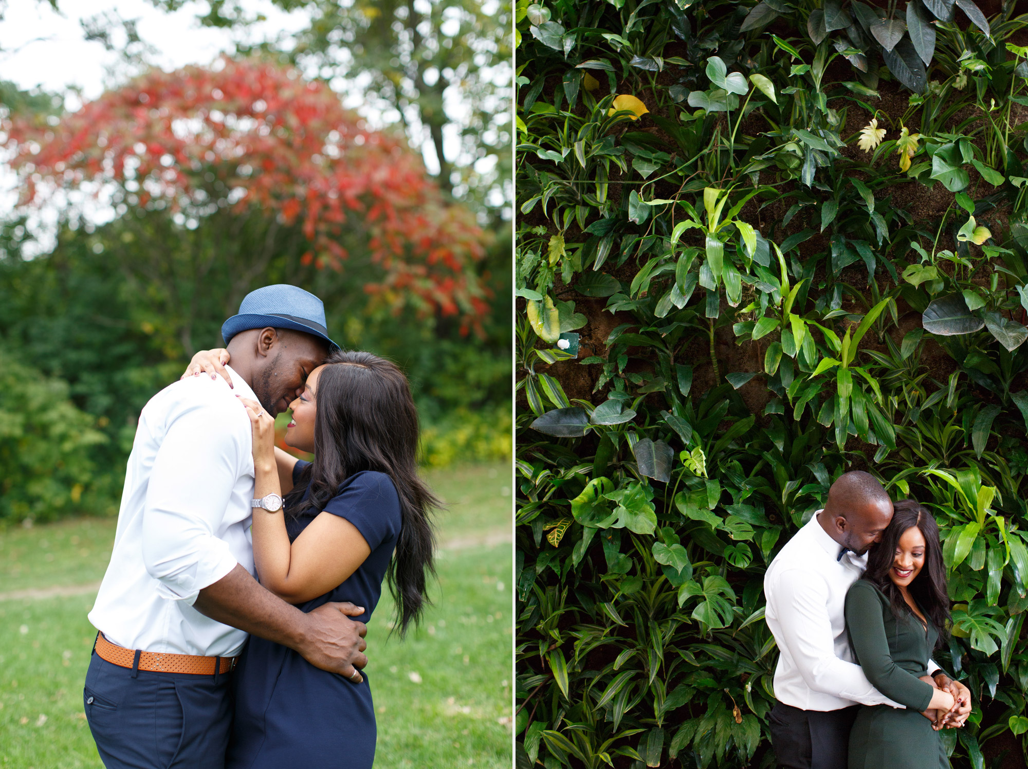 outdoor engagement session photographer