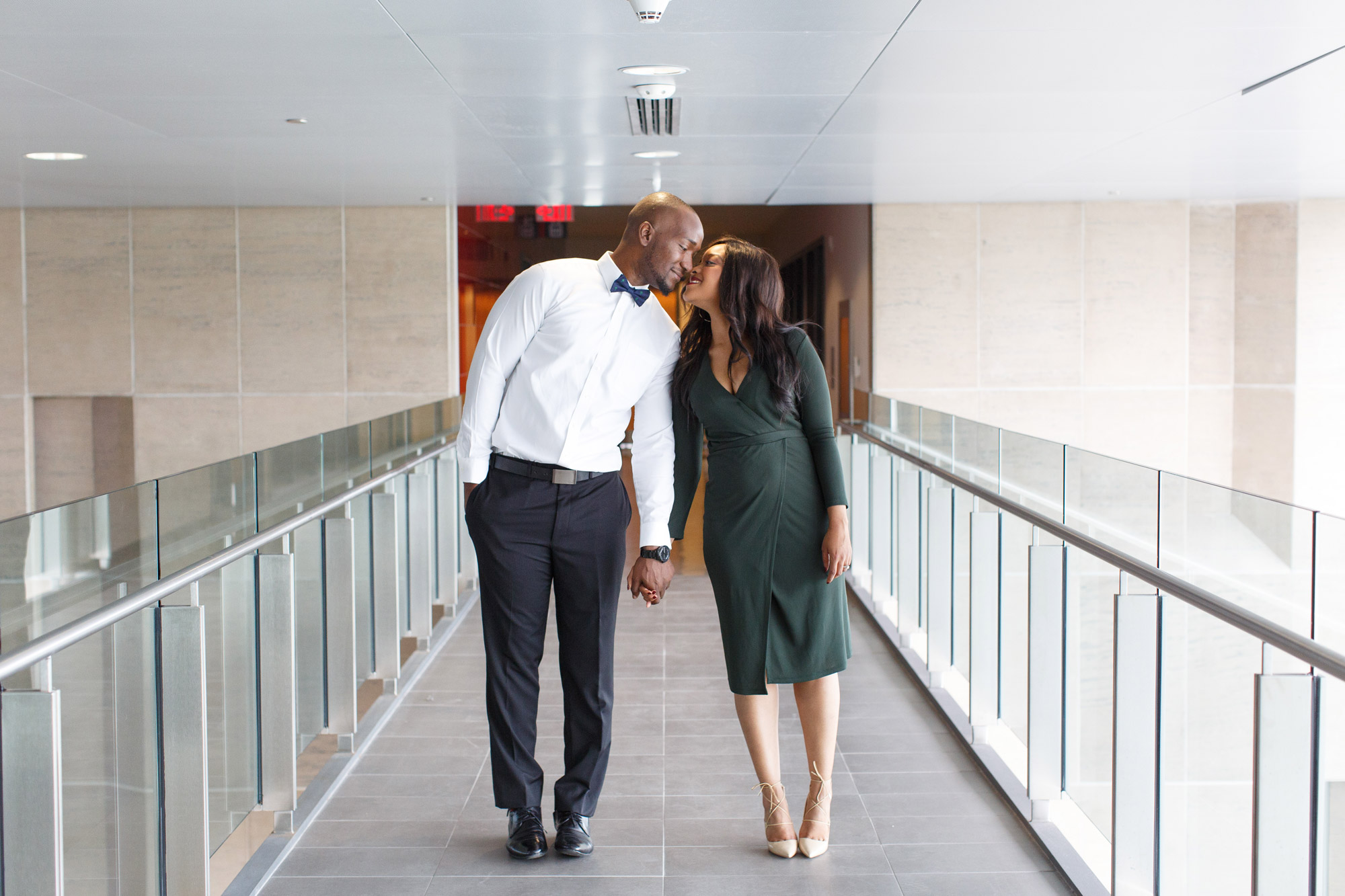 chic engagement photos in ottawa