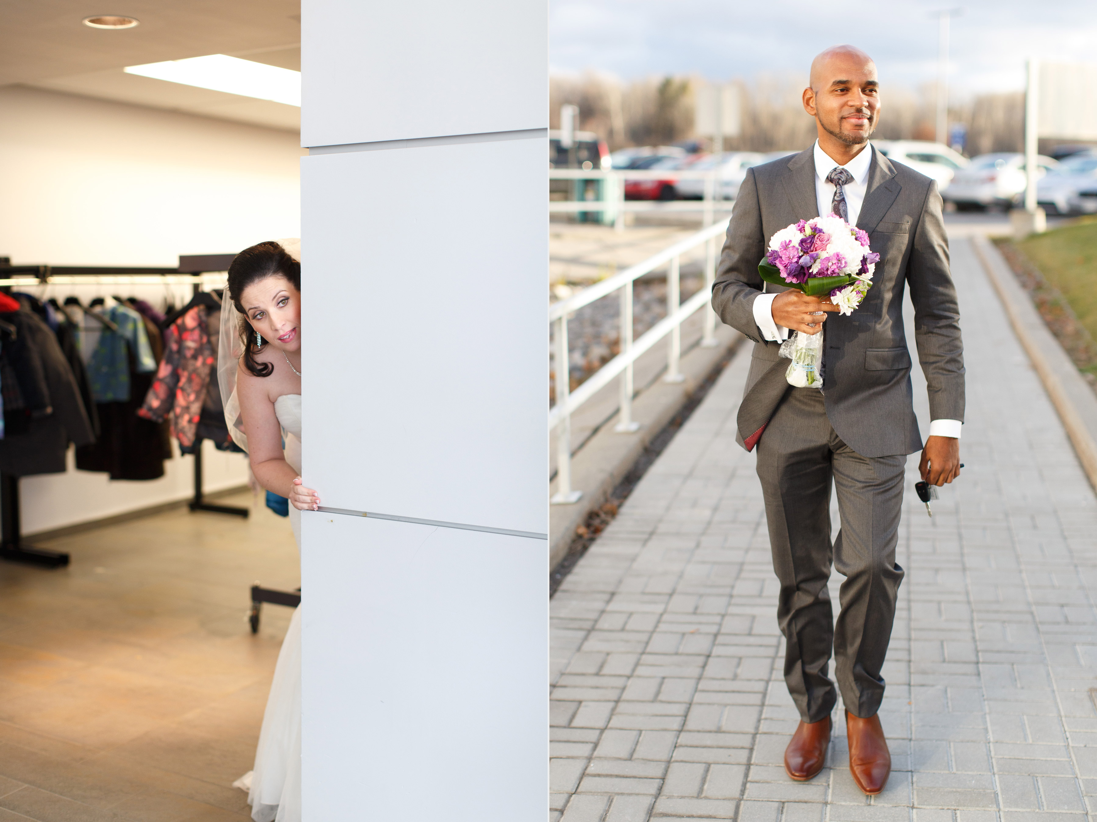 wedding first look idea by boyo photography